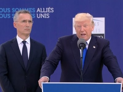Trump Lectures NATO Allies on Defense Spending