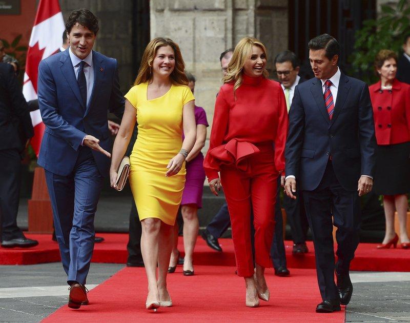 Justin Trudeau Sophie Gregoire Trudeau