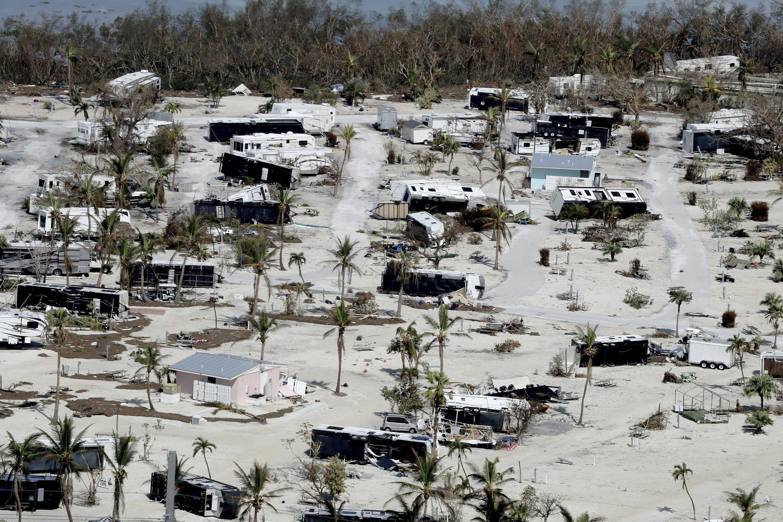 Irma's destruction of trailers challenges Keys' lifestyle
