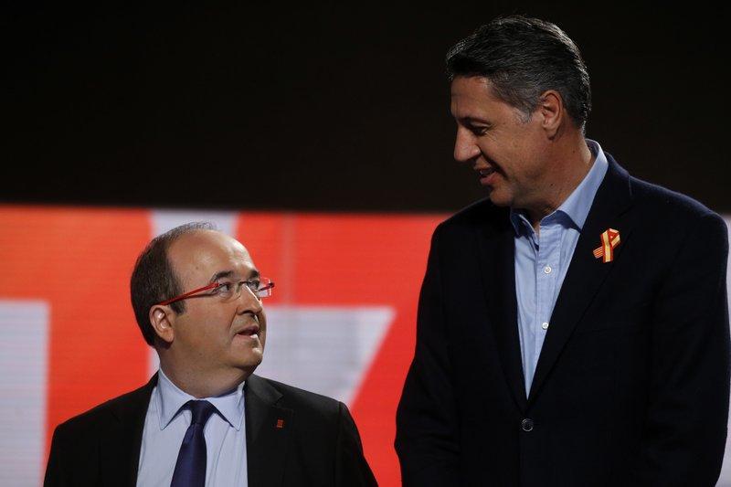 Miquel Iceta, Xavier Garcia Albiol