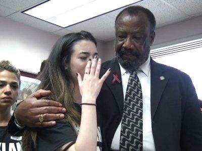 Douglas Students Petition Florida Lawmakers