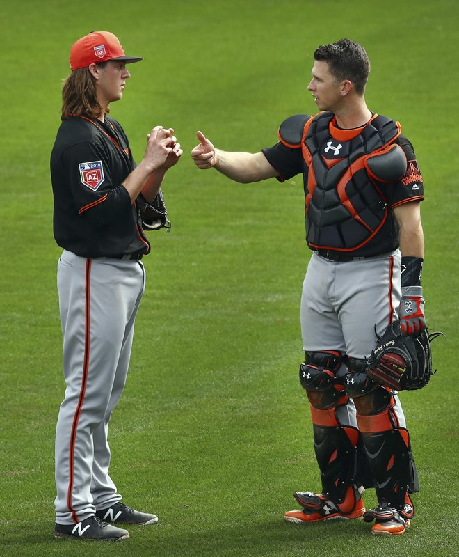 Buster Posey, Tyler Herb