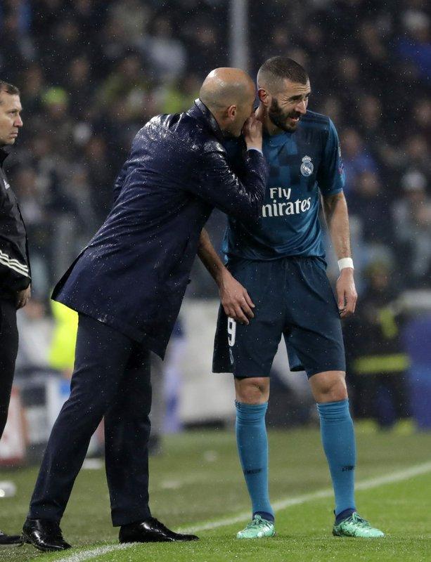 Zinedine Zidane, Karim Benzema