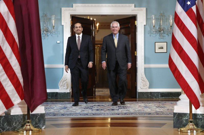 Rex Tillerson, Sheikh Mohammed bin Abdulrahman bin Jassim Al Thani