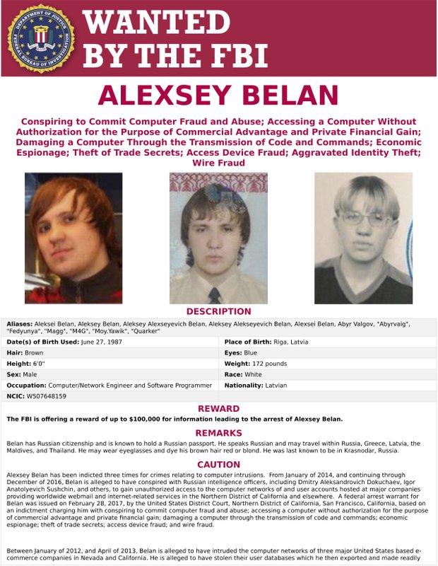 Alexsey Alexseyevich Belan