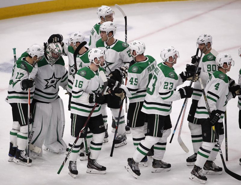 Dallas Beats Chicago Mats Zuccarello Injured In Stars Debut