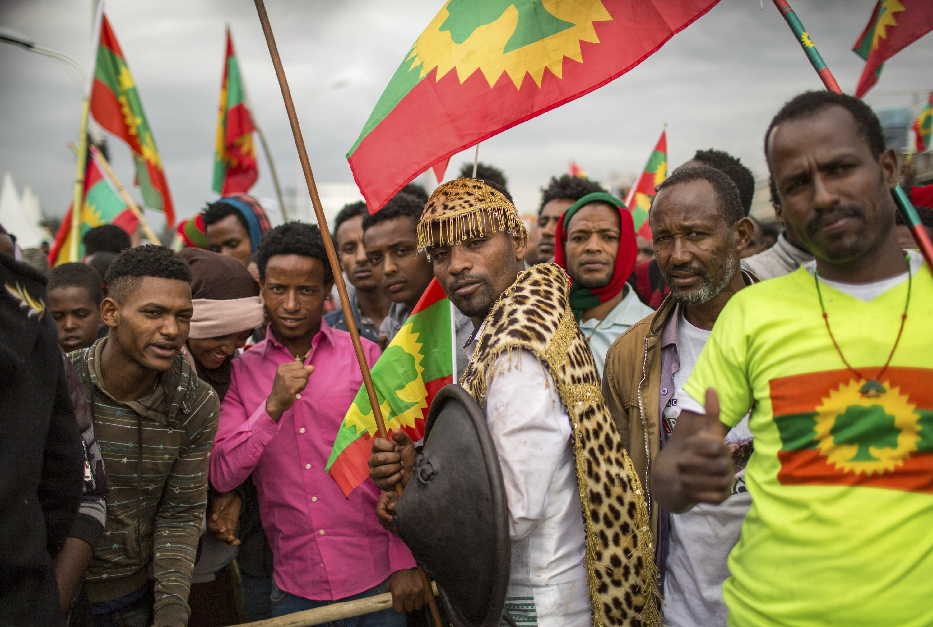 Hundreds of thousands in Ethiopia welcome once-banned group