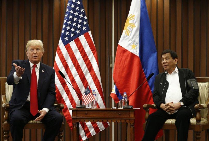 Rodrigo Duterte, Donald Trump