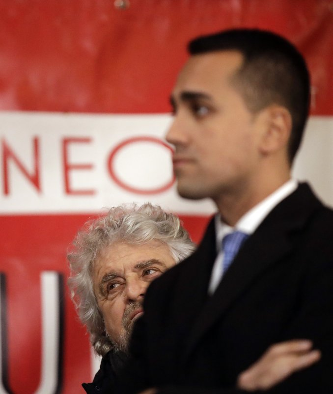 Luigi Di Maio, Beppe Grillo