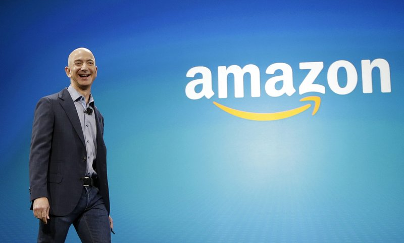 Amazon CEO Jeff Bezos rockets to richest person on the planet