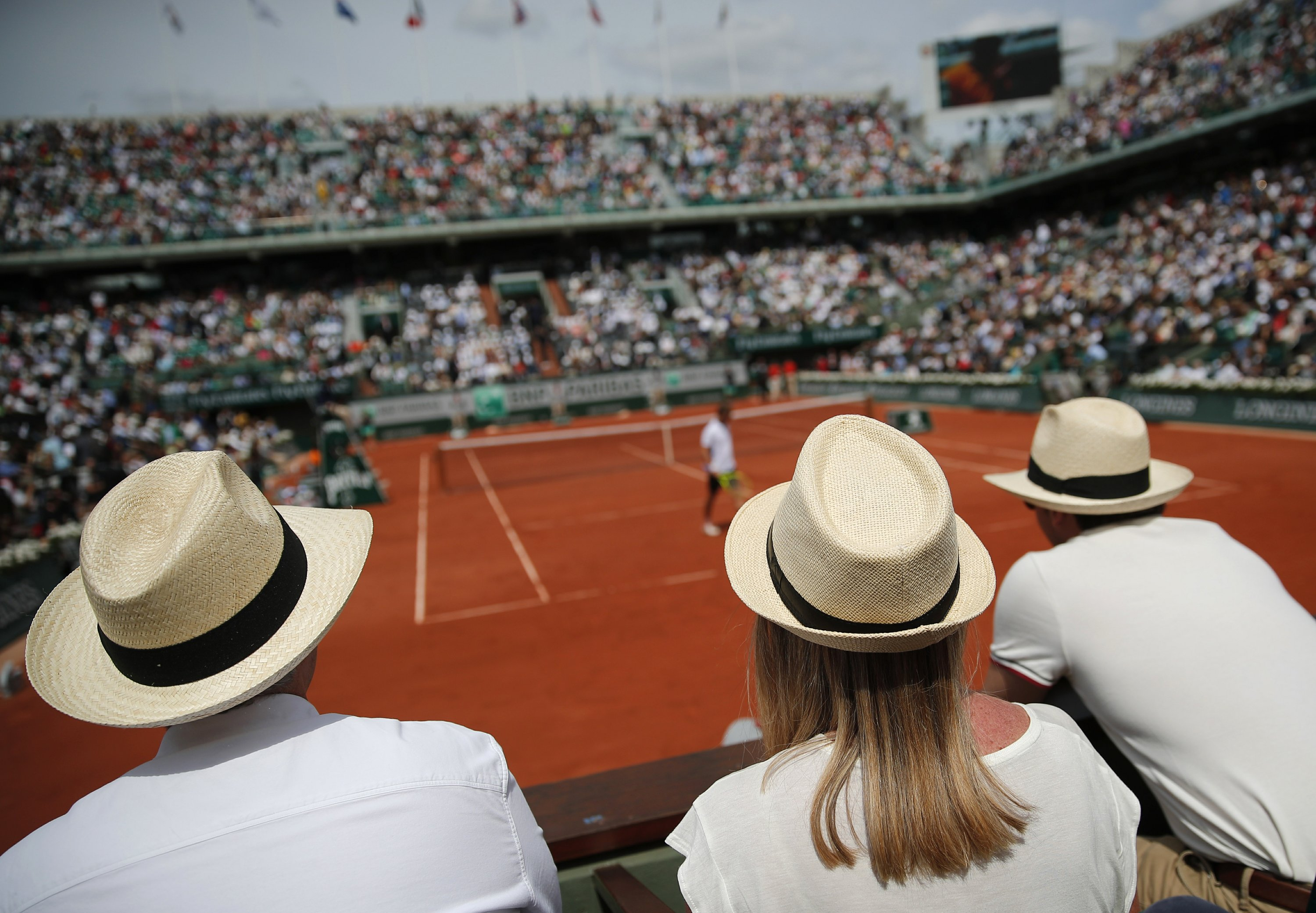 cac6d61f7c470 AP PHOTOS  Colors from the French Open