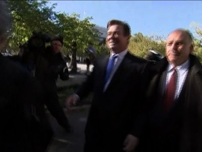 Manafort Leaves Court After Pleading Not Guilty
