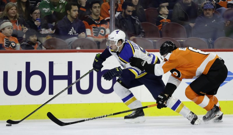 Blues Send Philadelphia Flyers To 7th Straight Loss 3 0