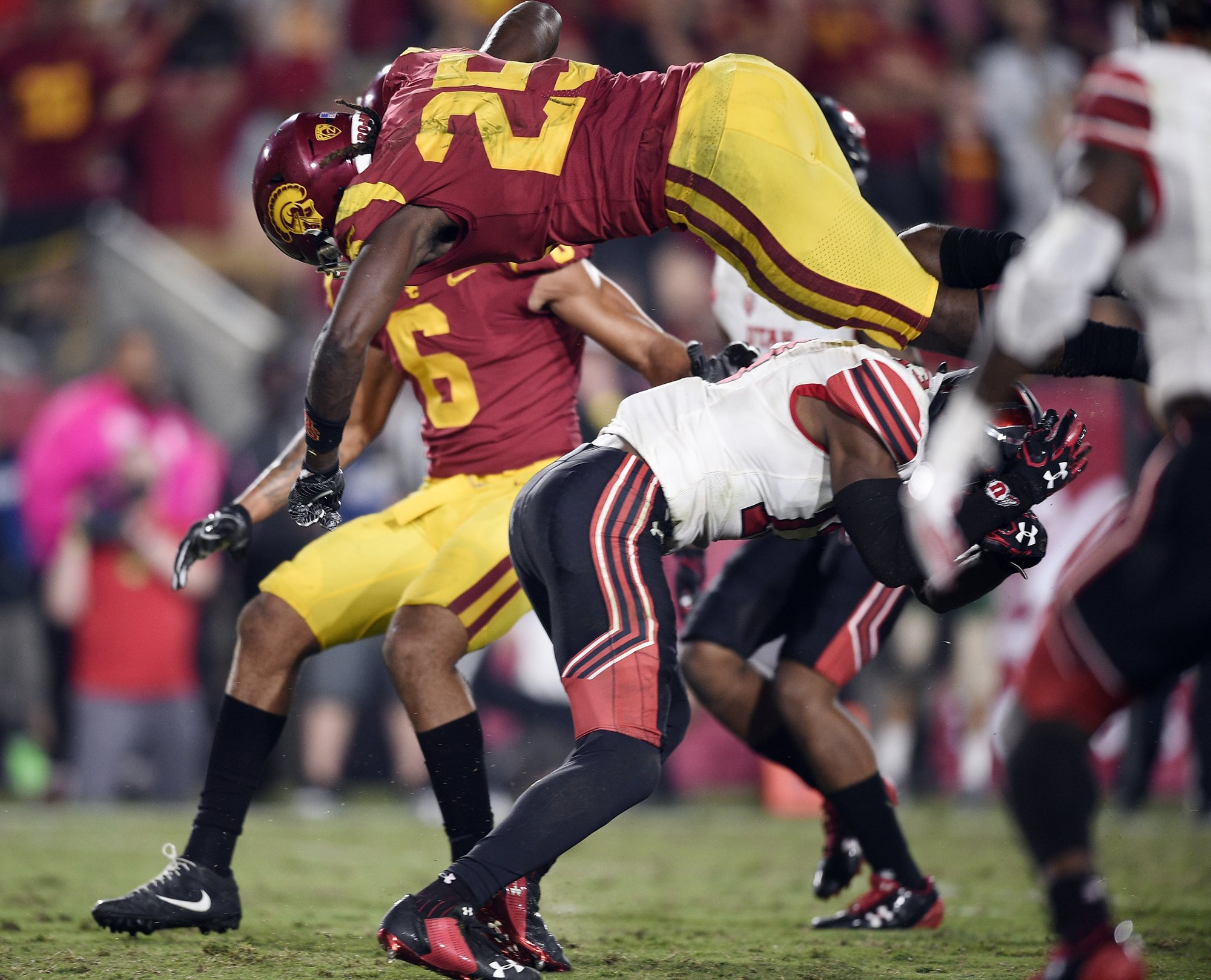 Surge Seen in Concussions Among College Football Players