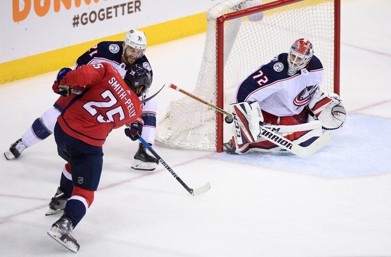 Devante Smith-Pelly, Sergei Bobrovsky