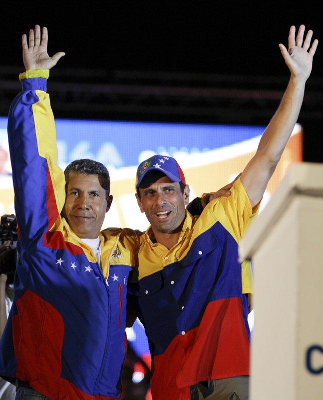 Henrique Capriles, Henry Falcon