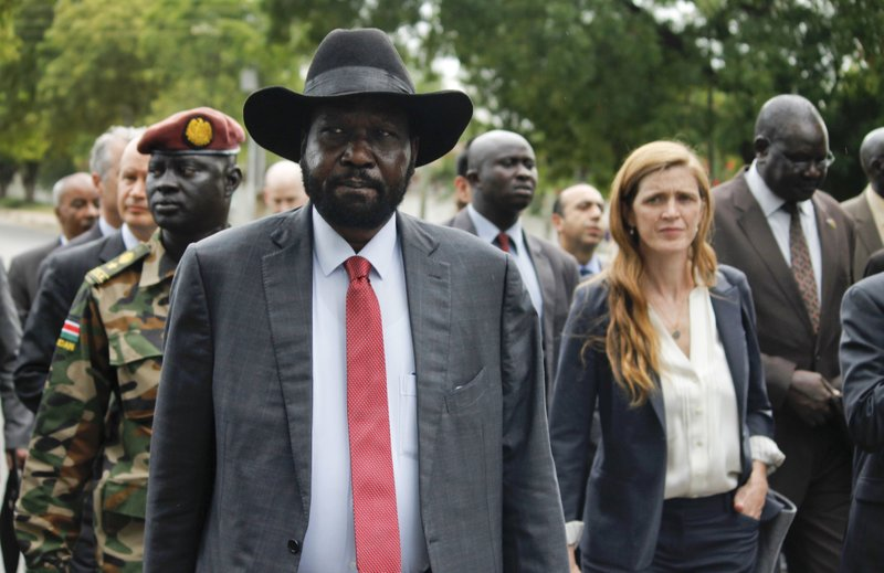 Samantha Power, Salva Kiir