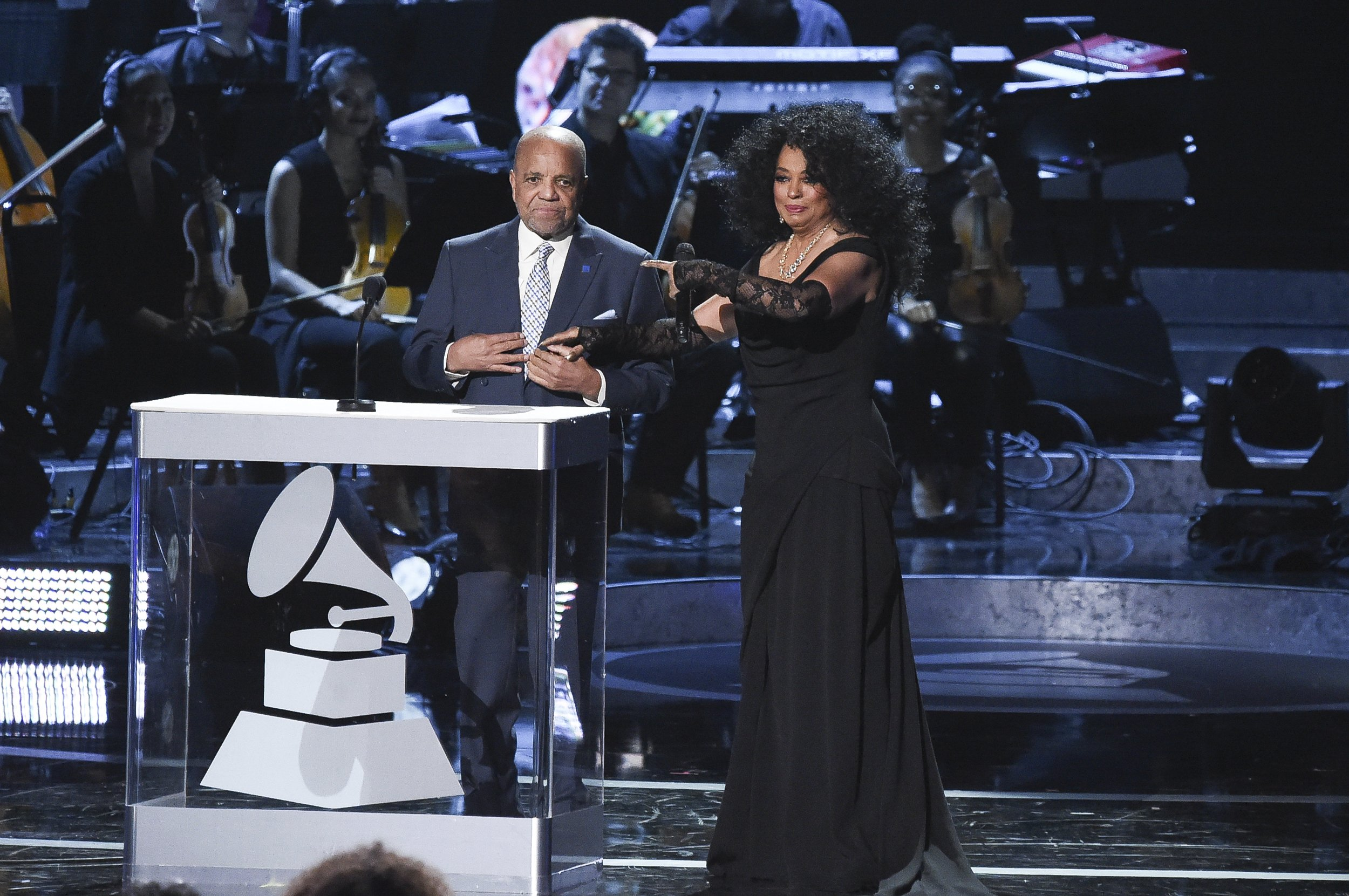 """Image result for Motown Records founder Berry Gordy looked out at the audience at a 60th anniversary tribute to his groundbreaking record label and saw his dream of making music for """"all people"""" in the world fulfilled.  Gordy told the packed Microsoft Theater at the """"Motown 60: A Grammy Celebration"""" that he wanted his label to bring people together from all walks of life through """"a legacy of love."""" The pre-taped concert, hosted by Smokey Robinson and Cedric the Entertainer, with an all-star lineup including Stevie Wonder, John Legend, Diana Ross, Meghan Trainor and Tori Kelly, airs Sunday on CBS.   """"My dream came true,"""" said Gordy, who started the African American label in 1959, building a roster that included superstar artists such as Marvin Gaye, Michael Jackson, The Temptations, The Supremes and Diana Ross.  """"I want to thank all of you fans, and your parents, and their grandparents. All around the world. I could say their great grandparents, but that would make me older than I want to be.""""  When Gordy launched Motown, he gave black musicians the platform to showcase their talents at a time when they struggled to get their records played on mainstream radio stations. His label introduced and helped launch the careers some of the biggest selling music stars from Gaye to Lionel Richie.  His label paved a way for the Motown Museum to be built in Detroit. It was the first headquarters of Gordy's music empire where Wonder, The Supremes, the Miracles and other performers recorded hits before Motown moved to California in 1972.  """"We didn't even realize the impact of Motown,"""" said Gordy, who started the label with an $800 loan from his family. """"In those early days, the unsung heroes had the courage to follow me down a road that didn't even exist.""""  Some of Motown's greatest hits were put on display during the concert, which was taped in February.  Ciara danced onstage sporting a Rick James-like braided wig with beads during her rendition of """"Give It to Me Baby."""" Legend cr"""
