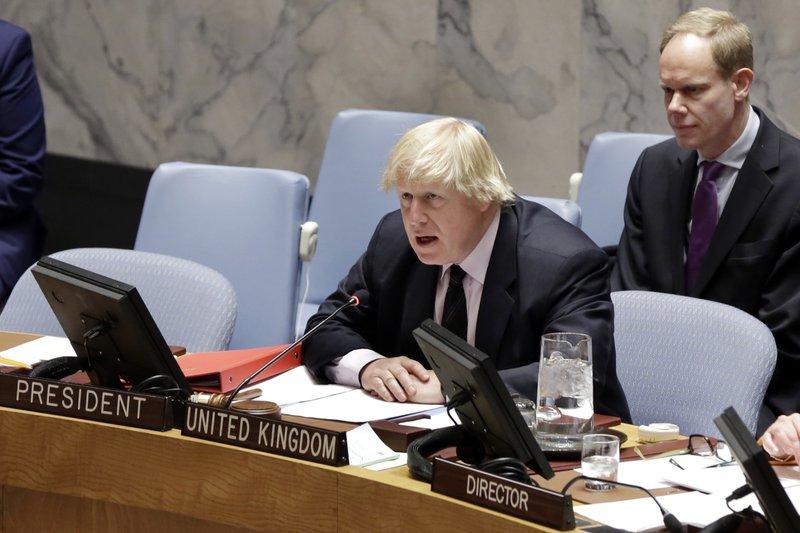 Boris Johnson, Matthew Rycroft