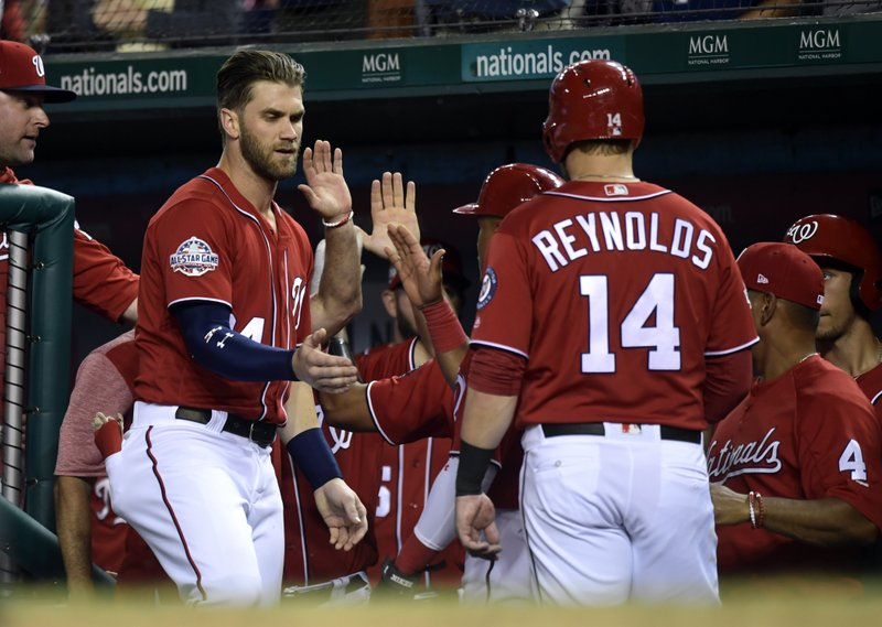 Bryce Harper, Mark Reynolds