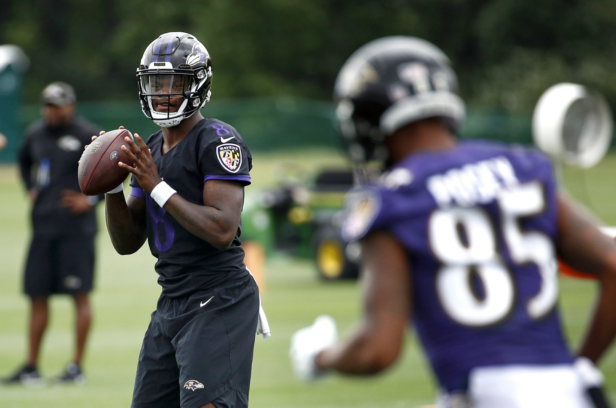 Ravens QB Lamar Jackson impressive at 1st NFL training camp 627adb444