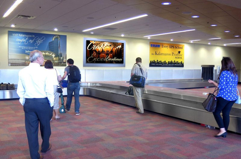 Clear Channel Airports Wins 5-Year Renewal with Kalamazoo/Battle Creek International Airport to Provide Brands with Innovative Advertising Solutions