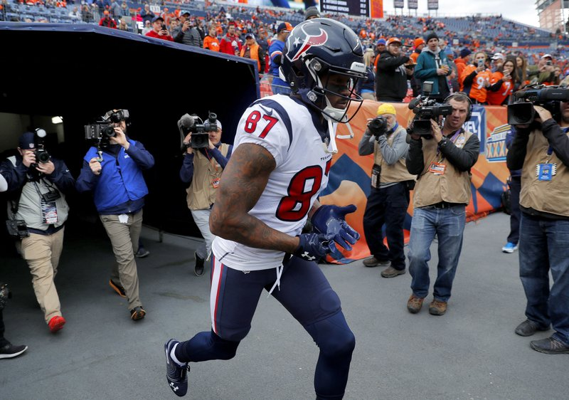 buy popular 27597 65c78 Thomas used bye week to catch up for 2nd game with Texans
