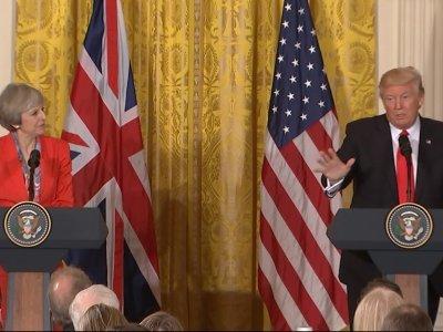 Trump Addresses Torture, Russia, Brexit
