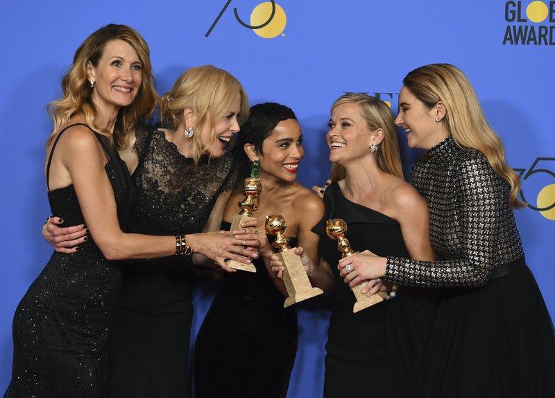 Laura Dern, Nicole Kidman, Zoe Kravitz, Reese Witherspoon, Shailene Woodley
