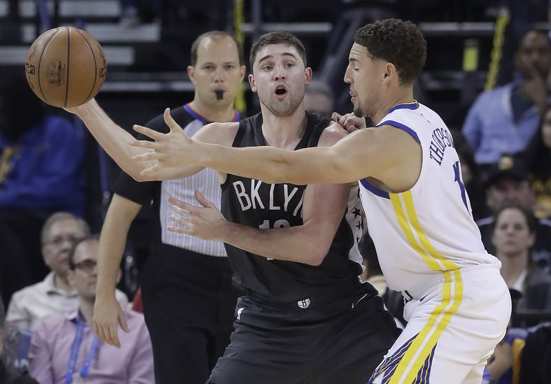 Joe Harris, Klay Thompson