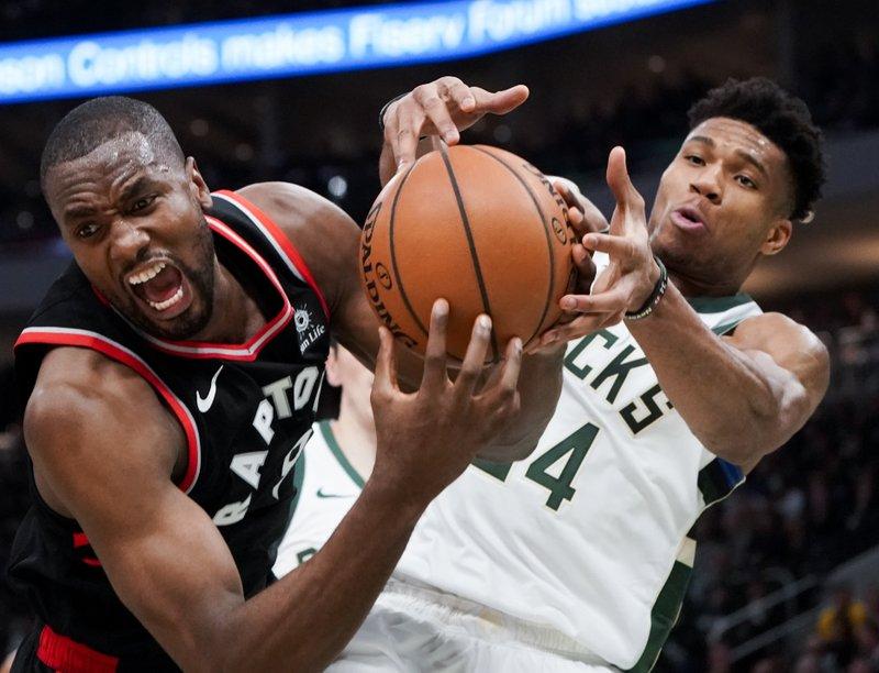 Halfway: Bucks top Raptors 125-103 for 2-0 East finals lead