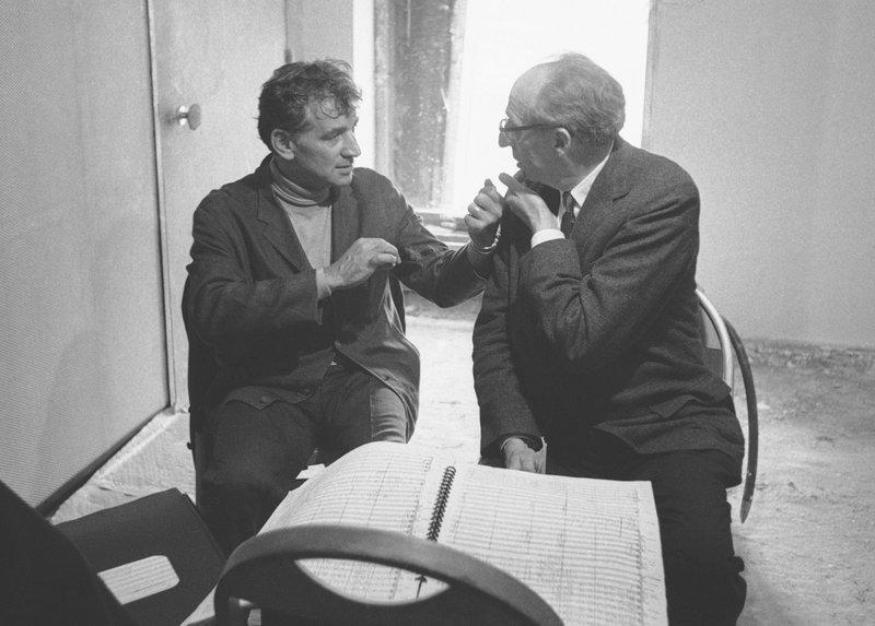 Leonard Bernstein, Aaron Copland