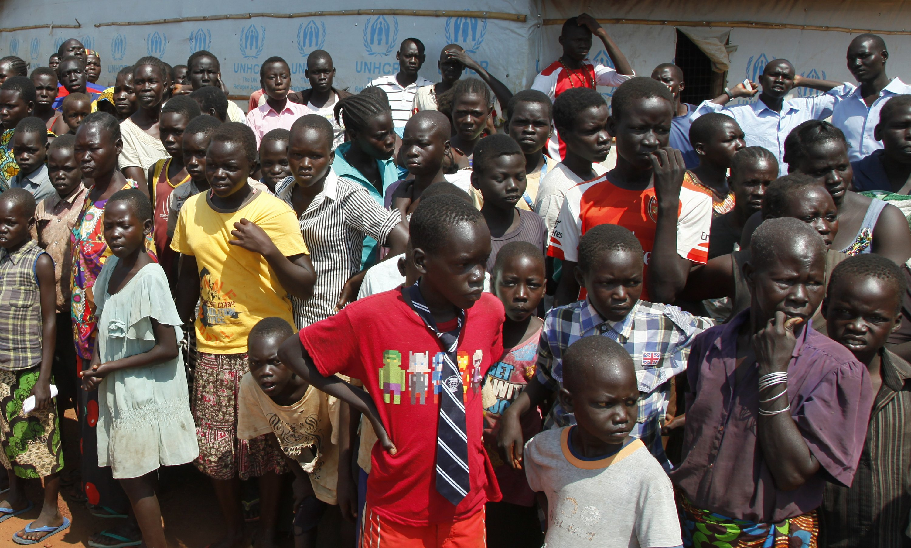 Uganda at 'breaking point' as South Sudan refugees pour in