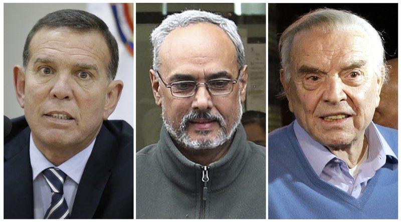 Juan Angel Napout, Manuel Burga, Jose Maria Marin