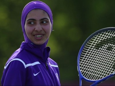 Sporty Hijabs Make Field of Play More Welcoming
