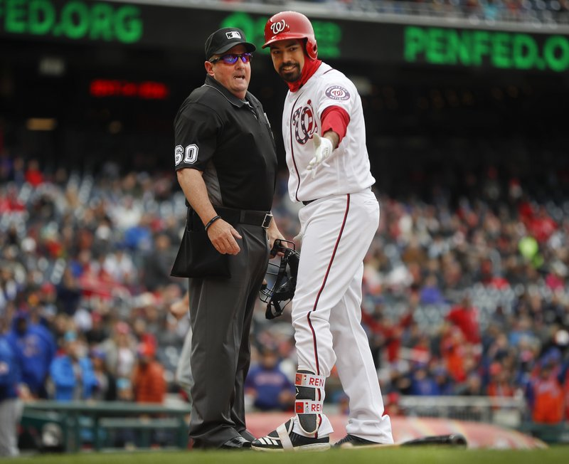 Anthony Rendon, Marty Foster