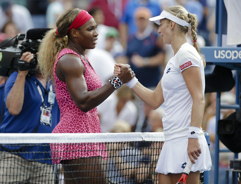 Serena's US Open begins with tough matchup vs Makarova