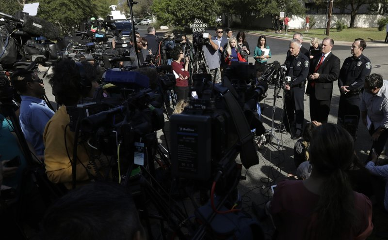 The Latest: Austin blast left victims 'bleeding profusely'