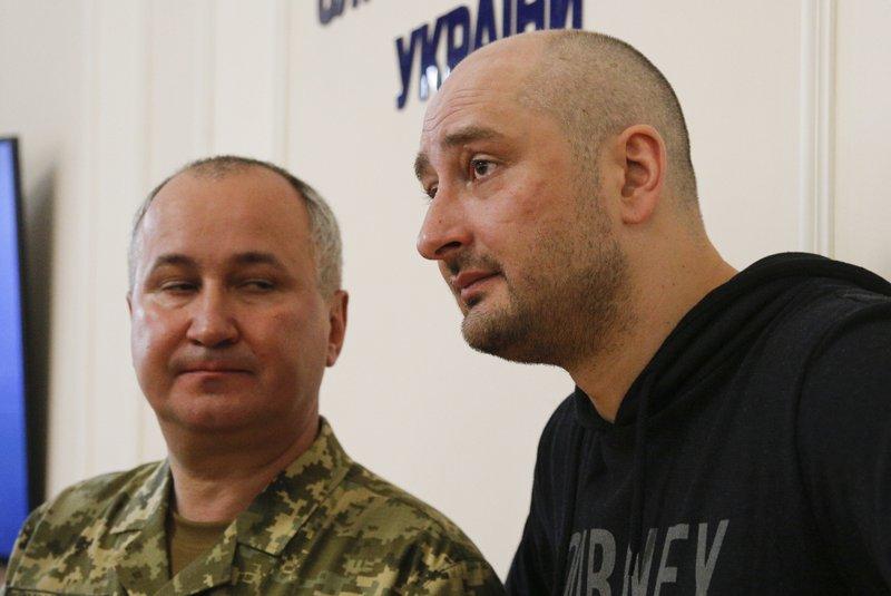 Arkady Babchenko, Vasily Gritsak