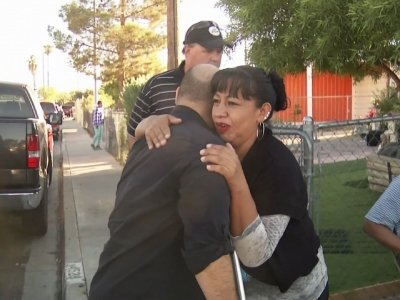 Vegas Victim Comforts Mother of Slain Co-worker