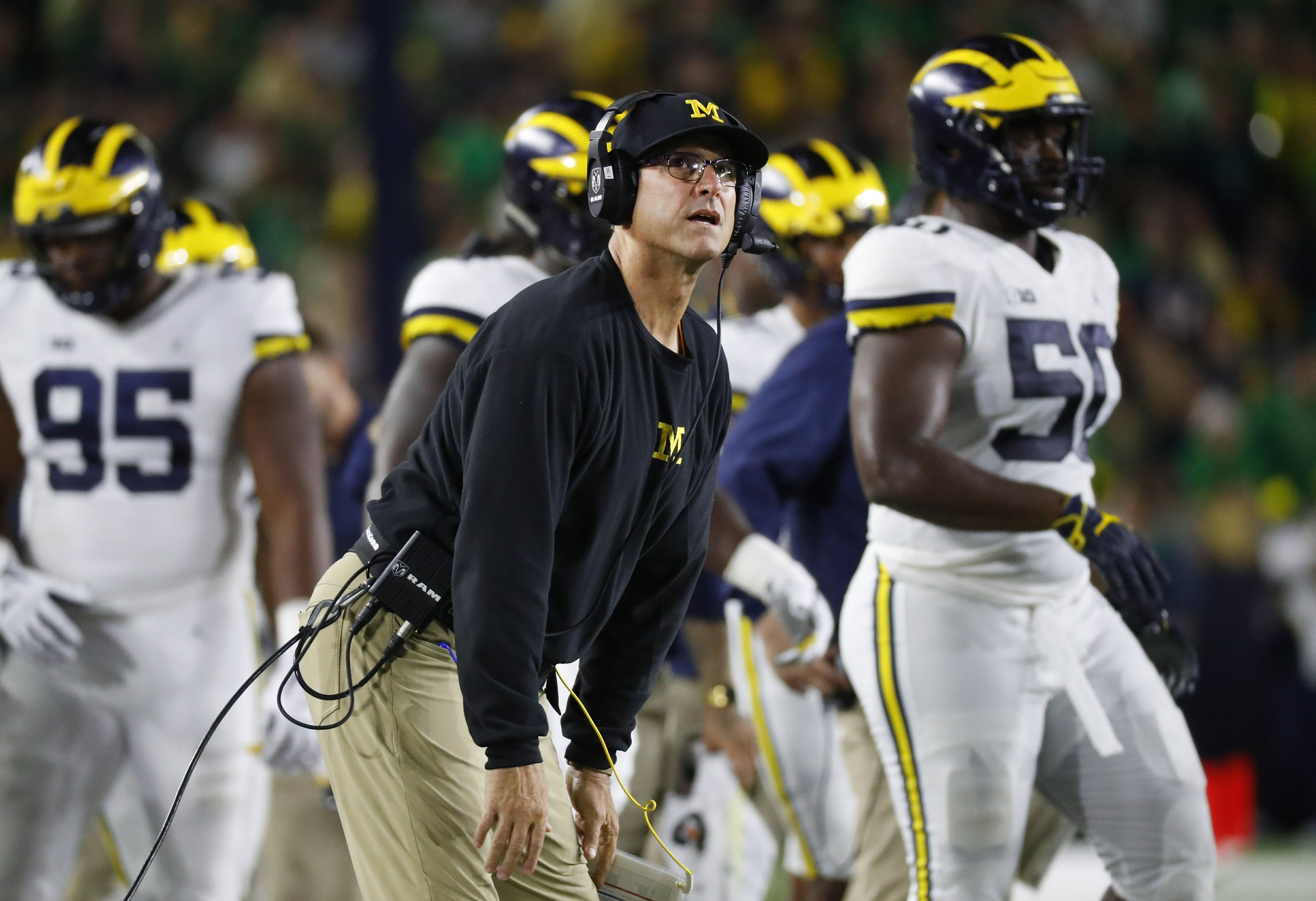 """Harbaugh to Edwards after critical tweets: """"Come after me"""""""