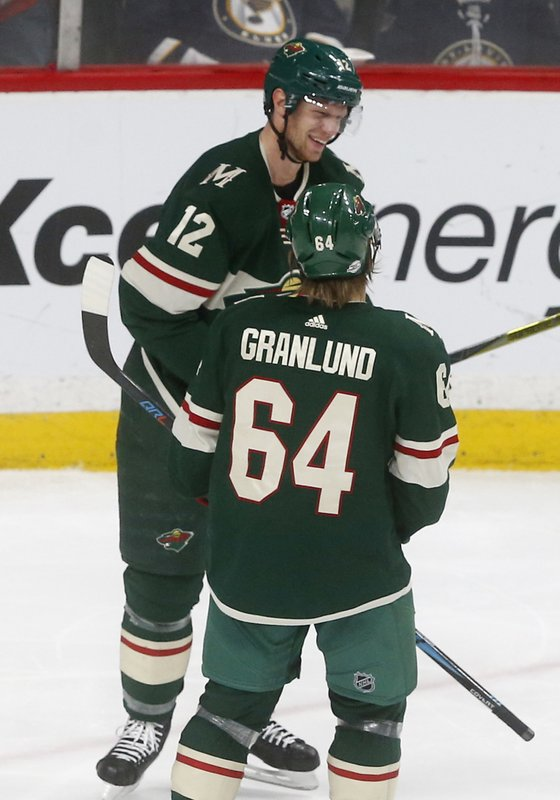 Eric Staal, Mikael Granlund