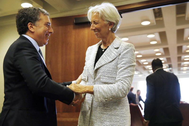 Christine Lagarde, Nicolas Dujovne
