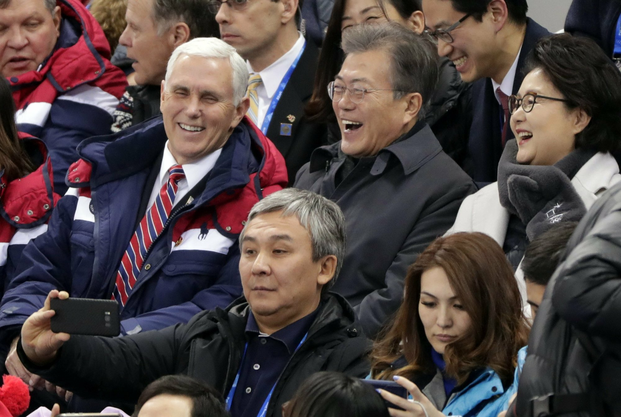 After S. Korea visit, Pence insists 'no daylight' on North