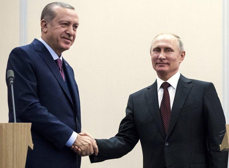 Vladimir Putin, Recep Tayyip Erdogan