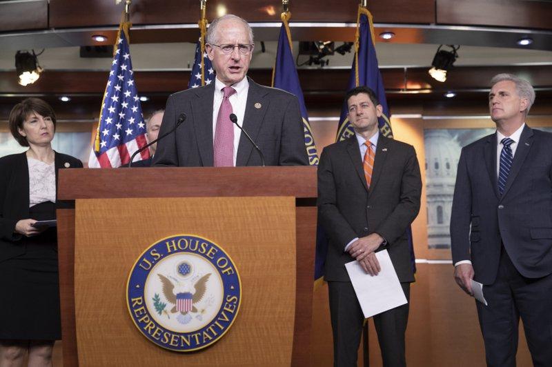 Paul Ryan, Kevin McCarthy, Cathy McMorris Rodgers, Mike Conaway