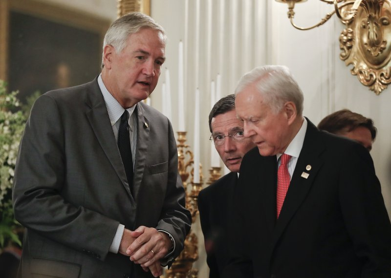 Luther Strange, John Barrasso, Orrin Hatch