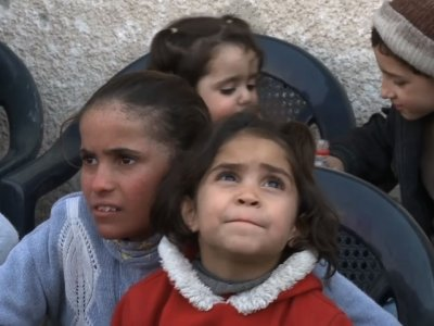 Syrian Evacuees Thankful To Reach Safety