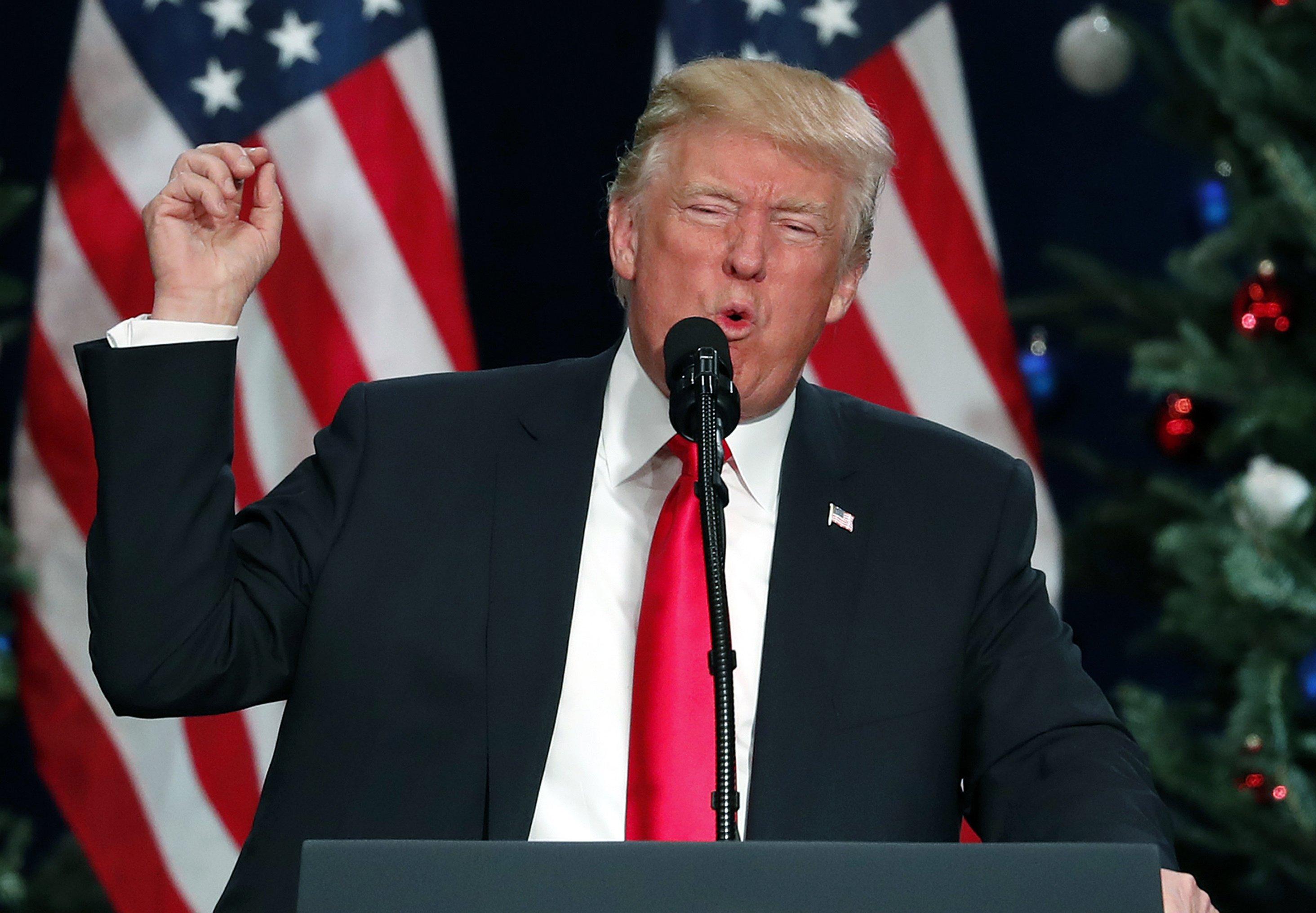 AP FACT CHECK: Trump distorts tax plan, peddles false videos