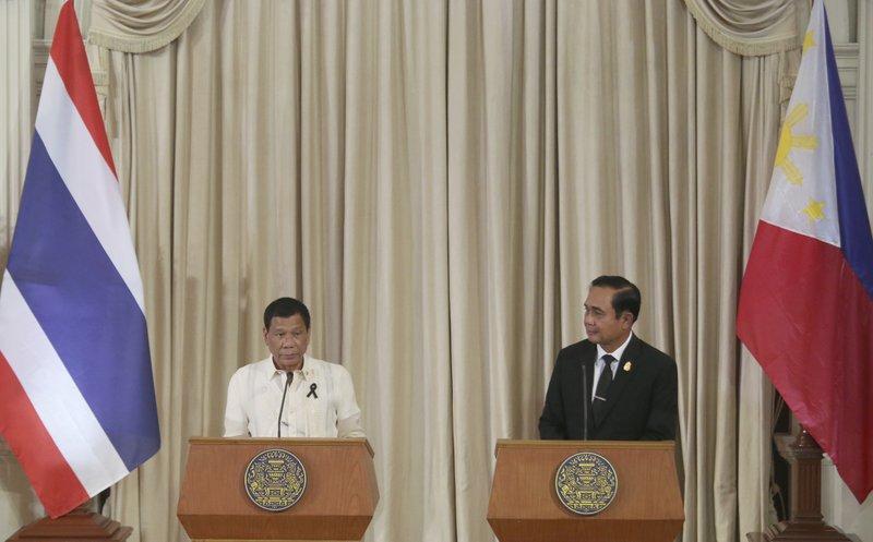 Prayuth Chan-ocha, Rodrigo Duterte